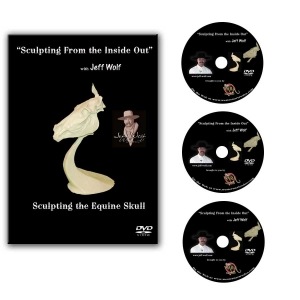 Sculpting the Equine Skull - DVD Set of 3