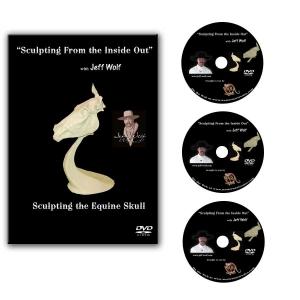 Sculpting the Equine Skull - DVD Set of 3