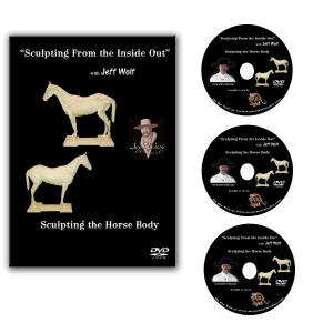 How to Sculpt the Horse Body DVD Set