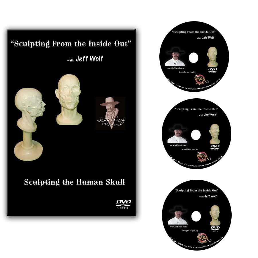How to Sculpt the Human Skull DVD Set