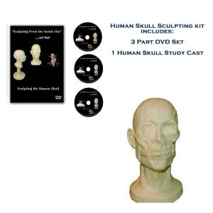 How to Sculpt the Human Skull - Sculpting Kit