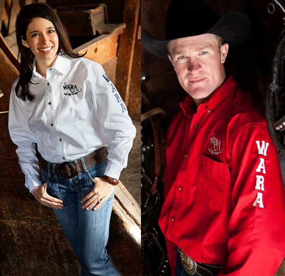 W.A.R.A. Contestant Long Sleeve Shirts