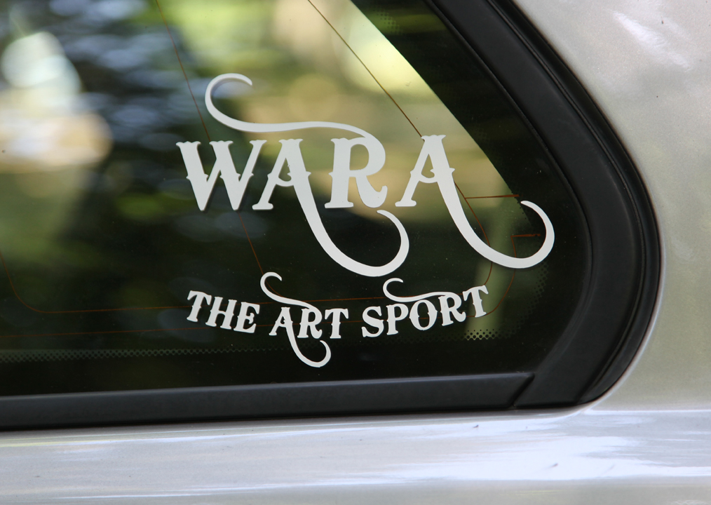 WARA Window Decal