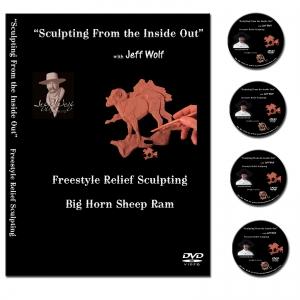Big Horn Sheep Relief Sculpting DVD