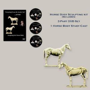 How to Sculpt a Horse Kit with Anatomy Model